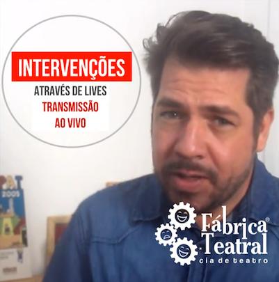 Intervenções via Lives
